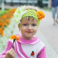 Крастока с цветком :: Алена Архиреева