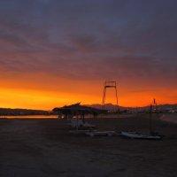 Закат перед песчаной бурей :: Lukum