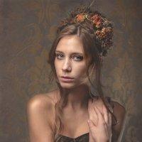 Девушка-осень :: Angeline VukOlova