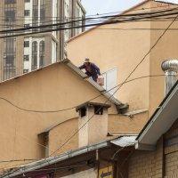 Карлсон, который живет на крыше :: Борис Приходько