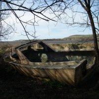 Заброшенная лодка :: Natalia Harries