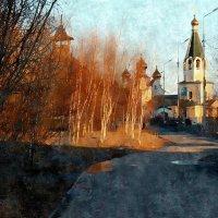 Живописный пейзаж Саврасова. Весенний :: Марина Влади-на