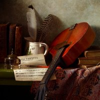 Натюрморт с мандолиной :: Татьяна Карачкова