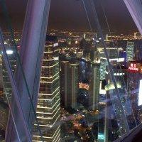 Вечерний Шанхай с  телебашни Жемчужина Востока :: Виталий  Селиванов