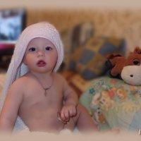 Младенцем быть совсем не просто.... :: Людмила Богданова (Скачко)