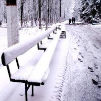 Снежный март :: Анатолий Бугаев