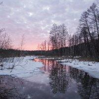 Розовый закат :: Олег Пученков