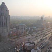 Пекин из окна гостиницы. :: ВИКТОРИЯ Т