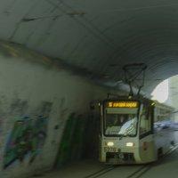 Наш трамвай куда то мчится.... :: Константин Сафронов