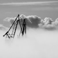 Белая стена тумана :: Вера Моисеева