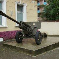Старая  пушка  в  Ивано - Фраковске :: Андрей  Васильевич Коляскин