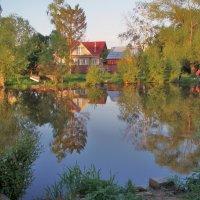 Дом на берегу реки :: елена ферштут