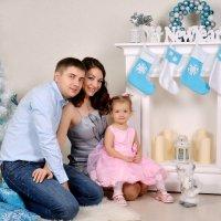С папой и мамой :: Елена Байдакова
