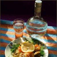 Рыбка в кляре в солнечный полдень :: Андрей Заломленков