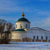 Церковь Троицы Живоначальной. :: Анатолий. Chesnavik.