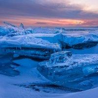 Закат у острова Большой Ушканий. :: Slava Sh