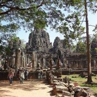 Храм Байон, Камбоджа :: Елена Павлова (Смолова)