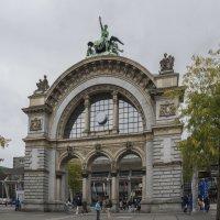 Швейцария, Люцерн. Железнодорожный вокзал. :: Наталья Иванова