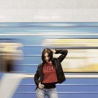 Гранж в метро :: Nata Grebennikova