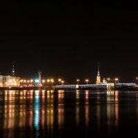 Ночь. Мост. Питер №2 :: Владимир Дарымов