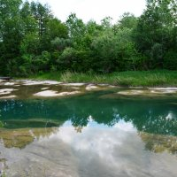 Река Абин. :: Береславская Елена