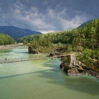 Мосток над Катунью :: Виктор Четошников