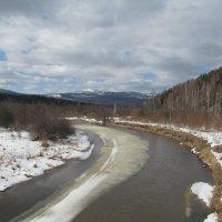 Вид с реки Ай на Хребет Уреньга :: Олег  Царёв