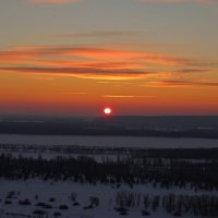 Закат  зимой 3 :: leoligra