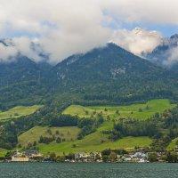 Швейцария. Гора Пилатус в облаках. :: Наталья Иванова
