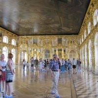 Большой зал Екатерининского дворца :: Вера Щукина