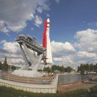копия ракеты носителя Восток. :: Alexey YakovLev