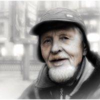 Пожилой человек. :: Алексей Бажан