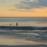 купание на закате3 :: Александр
