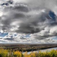 Дорисованная фотография пейзажа :: Сергей Тагиров