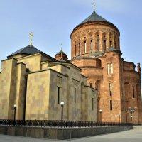 Армянский храмовый комплекс на Олимпийском проспекте. :: Viktor Pjankov
