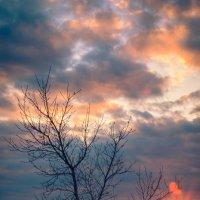 Огненный закат :: Иван Рыжков