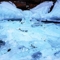 Байкальский лёд :: Анатолий Иргл