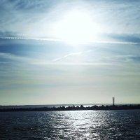 Балтийск. Солнце над морем. :: Маргарита Батырева
