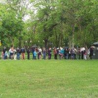 Очередь в туалет)) 9 мая 2015г. :: ALEX MAK