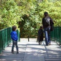 На мосту. мальчик в костюме Star Wars :) :: Elvira Tabisheva Peirano