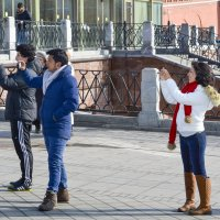 Мексиканские гости в Москве. :: Андрей Чиченин