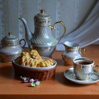 Натюрморт в холодных тонах. :: Anna Gornostayeva