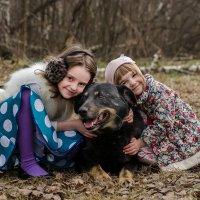 Барон и девчонки сестрёнки :: Ольга Осипова