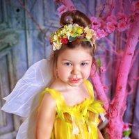 Цветочная фея Машенька.. :: Юлия Романенко