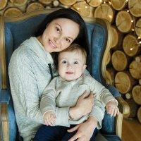 """Мамочка и сыночек :: Первая Детская Фотостудия """"Арбат"""""""