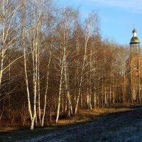Дорога  к  Храму.... :: Валерия  Полещикова