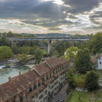 Швейцария, Берн. Мост Корнхаусбрюкке. :: Наталья Иванова