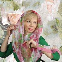 женщина в платке :: Наталия Плотникова