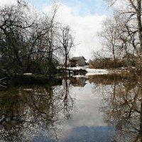 Весна, половодье, земли островок. вода каждый час прибывает ... :: Евгений Юрков