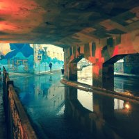 Под мостом :: Ирина Бруй